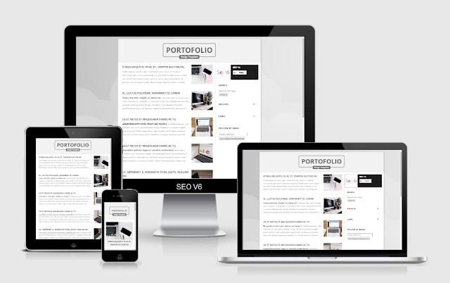 portfolio-responsive-blogger-template